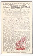 DP Gabrielle Verfaillie / Lootvoet ° Proven Poperinge 1884 † 1937 - Devotion Images