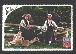 Toulouse - Costumes Toulousains - Groupe Folklorique Lou Ramelet Moundi - Folklore - 1961 - Toulouse