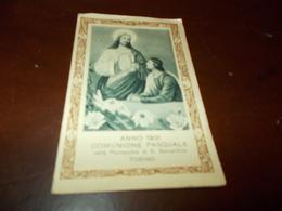 B703  Santino Anno 1931 Comunione Pasquale - Images Religieuses