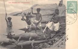 Egypte / Ethnic - Belle Oblitération - 33 - La Chasse Aux Crocodiles - Egypte
