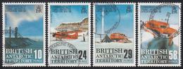 BRITISH ANTARCTIC TERRITORY  Michel  148/51 Very Fine Used - Territoire Antarctique Britannique  (BAT)