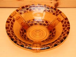 Saladier Plat Creux – Art Déco - Verre & Cristal