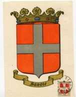10201  FRANCE  N° 836 Armoiries De La Savoie   Obl. Ord. Chambéry  Du 15.2.50  TB - Maximum Cards