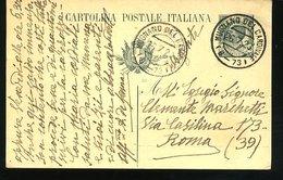 WD141 CARTOLINA POSTALE 1920 CON ANNULLO MUGNANO DEL CARDINALE - Italia