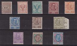 Italia Regno 735 ** 1901 - Floreale La Serie Completa N. 68/78. Cert. Biondi. Cat. € 8375,00. MNH - 1900-44 Victor Emmanuel III