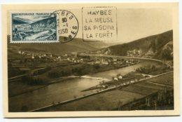 10203  FRANCE  N° 842A Vallée De La Meuse  Obl. Daguin Haybes  Du 30.1.50  TB/TTB - Maximum Cards