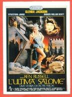 CINEMA-CARTOLINA MANIFESTO FILM-L'ULTIMA SALOME'-GLENDA JACKSON-STRATFORD JOHNS-NICKOLAS GRACE - Manifesti Su Carta
