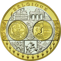 Belgique, Médaille, L'Europe, Belgique, FDC, Argent - Belgium