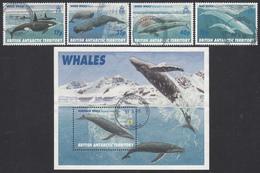 BRITISH ANTARCTIC TERRITORY  Michel  250/53, BLOCK 4 Very Fine Used - Territoire Antarctique Britannique  (BAT)