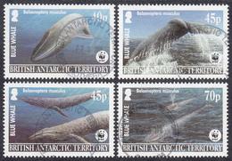 BRITISH ANTARCTIC TERRITORY  Michel  353/56 Very Fine Used - Territoire Antarctique Britannique  (BAT)