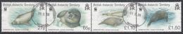 BRITISH ANTARCTIC TERRITORY  Michel  505/08 Very Fine Used - British Antarctic Territory  (BAT)
