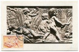 10213  FRANCE  N° 860 L'été Par Bouchardon Obl. Temp. Salon De Machine Agricole à Paris    Du 1.3.50  TB/TTB - Maximum Cards