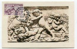 10215  FRANCE  N° 861 L'Automne Par Bouchardon Obl. Ord. Salon De La Machine Agricole à Paris    Du 1.3.50  TB/TTB - Maximum Cards