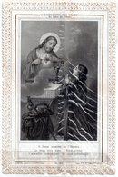 """Holly Card N°24, Canivet , Image Pieuse Dentelle """"l'Eucharistie Est Sortie Du Coeur De Jésus  """" 8.5 X12.5 Cm - Religione & Esoterismo"""