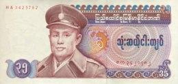 Myanmar 35 Kyat, P-63 (1986) - UNC - Myanmar