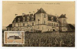 10221  FRANCE  N° 913  Château Du Clos De Vougeot  PJ  Du 17.11.51  TB/TTB - Maximum Cards