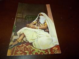 B703  Donna Araba Cm14x9 Non Viaggiata - Saudi Arabia