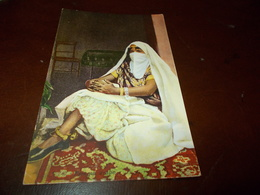 B703  Donna Araba Cm14x9 Non Viaggiata - Arabie Saoudite