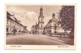 NIEDER - SCHLESIEN - TREBNITZ / TRZEBNICA, Kloster Und Kirche, 1929, Druckstelle - Schlesien