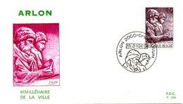 BELGIQUE. N°1486 De 1969 Sur Enveloppe 1er Jour. Musée Archéologique D'Arlon. - Archéologie