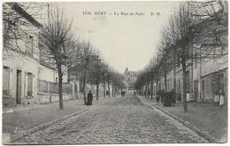 Val D' Oise MERY La Rue De Paris Animation  ..ab - Mery Sur Oise