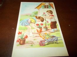 B703  Illustrazione Bambini Cm14x9 Viaggiata - Bambini