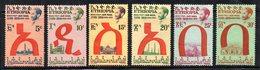 ETP93 - ETIOPIA 1957 , Posta Aerea Yvert  N 43/48  Linguellata * - Ethiopia