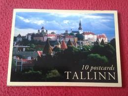 BLOC ACORDEÓN LIBRO DE 10 POSTALES POSTCARDS DE TALLINN TALLIN ESTONIA EESTI CARTES POSTALES POSTAL VER FOTO/S. BALTIC - Estonia