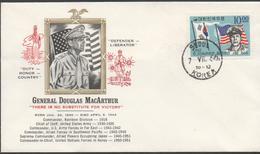 3353  Carta  Seoul 1960, Korea, Corea, Ganeral Douglas MacArthur - Korea, South