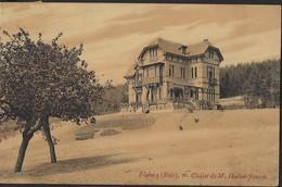 FLOBECQ * BOIS * VLOESBERG * CHALET DE M. HALLET-FOURET * 1923 - Ath