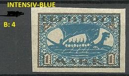 ESTLAND Estonia 1920 Michel 12 Y B: 4 Color Variety Abart (*) - Estonie
