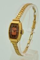 14K Női Arany óra Arany Szíjjal, Jelzett, Gama Márkájú 13,1 G - Jewels & Clocks