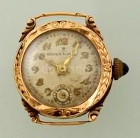 Arany (Au) Resios Watch Karóra, Nem Működik, Jelzett, D: 2 Cm, Bruttó: 9,6 G - Jewels & Clocks