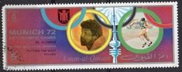 OMM AL QIWAIN N° 713IIA O MI 1972 Vainqueurs Au Jeux Olympiques De Munich (Wladyslaw Komar) (Non Répertorié Y&T) - Umm Al-Qiwain