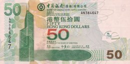Hong Kong 50 Dollars, P-336a (1.7.2003) - UNC - Hongkong