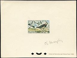 France 1273 Epreuve De Luxe Signè. Signed Deluxe Proof. Bird - Oiseaux