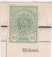 T.F. Alsace-Lorraine °15 - Steuermarken
