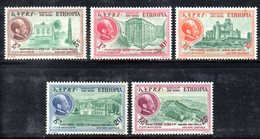 ETP95 - ETIOPIA 1957 , Posta Aerea Yvert  N 49/53 ***   SELASSIE - Ethiopia
