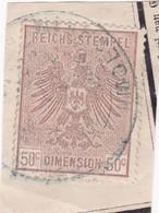 T.F. Alsace-Lorraine °8 - Steuermarken