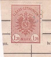 T.F. Alsace-Lorraine °16 - Steuermarken