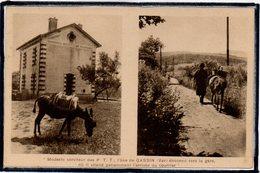 GASSIN - ANE DES P.T.T. - ROUTE VERS LA GARE - France