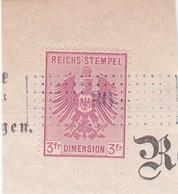 T.F. Alsace-Lorraine °12 - Steuermarken