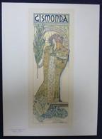 Les Maitres De L'affiche - N°27 - Superbe Planche De MUCHA - GISMONDA - Sarah BERNHARDT - 1896 - Affiches