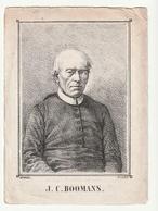 Priester BOOMANS Sichem Namur Schriek Meerhout Hal Linden Kessello (Kessel Lo) Cortryck-Dutzel 1854 Tekening A. Lund - Images Religieuses