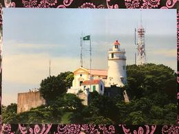MACAU GUIA LIGHTHOUSE PPC PRINTED BY CLM. - Chine