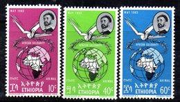 ETP98 - ETIOPIA 1963 , Posta Aerea Yvert  N 71/73 *** - Ethiopia
