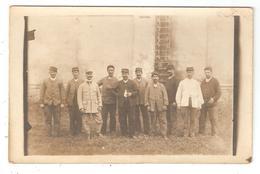 CARTE PHOTO 78 MAISONS LAFFITTE Ouvriers Militaires - Weltkrieg 1914-18