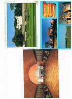 CPM 9 Cartes Chateaux Du Bordelais - Postcards
