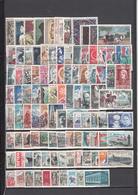 France (1960-69) Lot De 100 Timbres Oblitérés Différents à 0,04 Eur L'un! - France