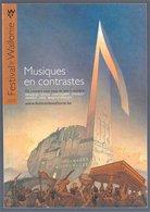 Musique En Contrastes Festival De Wallonie 2005 (Schuiten) - Sérigraphies & Lithographies